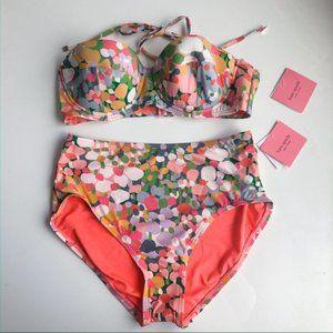 Kate Spade High Waist 2 pc. Bikini - SMALL